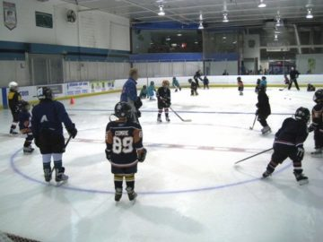 Youth Ice Hockey Beginner clinic