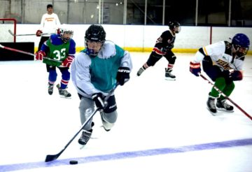 Youth Ice Hockey fun
